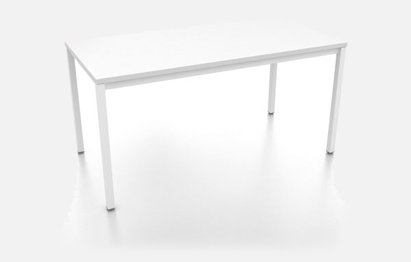 Needs table in white background